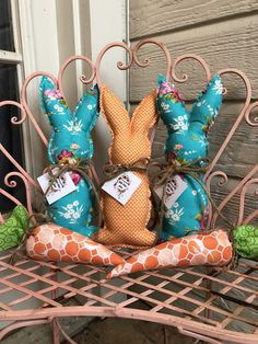 Bunny Crafts, Easter Crafts, Rabbit Crafts, Spring Crafts, Holiday Crafts, Pet Christmas Stockings, Easter Fabric, Easter 2021, Easter Projects