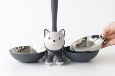ALESSI Tigrito Kattenvoerbak. #huisdier