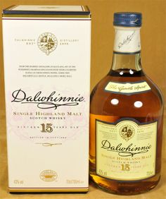 Dalwhinnie Whisky 15 y.o.