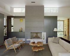 70 moderne, innovative Luxus Interieur Ideen fürs Wohnzimmer - holztische wohnzimmer stuhl sofa design modern