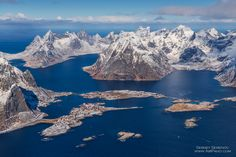Lying north of the Arctic circle within the severe waters of the Norwegian sea, the Lofoten archipelago is known for its wild nature, majestic mountains, deep fjords, noisy bird settlements, the purest water and long sandy beaches