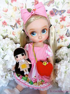 Disney animadores 16 ropa dulce nieve rosa por BlytheBerryGirl