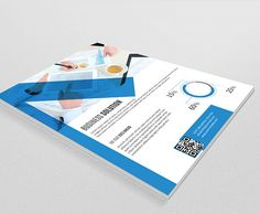 Corporate flyer template-V25 by Template Shop on @creativemarket