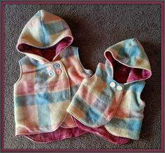 My 3 LittleKiwis: {Kids Clothes Week} ~ Day 4 ~ Matching Vest for Brylie