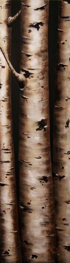 ACEO ATC Fine Art Print Signed Quaking Aspens Trees FREE Shipping