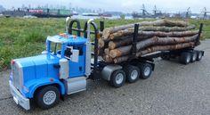 Lego Kenworth Logging Truck | by Brickbaron