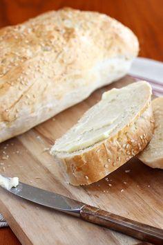 Easy Italian Bread from Let's Dish Recipes