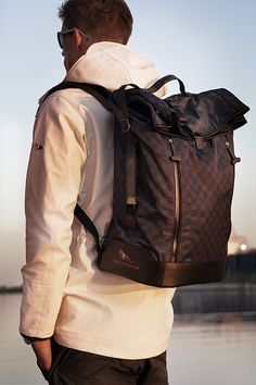 Luis Vuitton Back Pack Damier Challenge LV CUP.