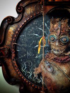 Scarecrow by Michael deMeng Mixed Media Art, Mix Media, Mixed Media Sculpture, Found Object Art, Art Carved, Assemblage Art, Weird Art, Recycled Art, Artist Art