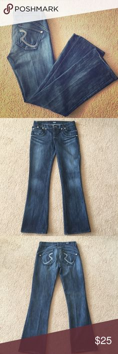 """💥Weekend Sale💥 Rock & Republic Jeans Excellent condition!!! 33"""" inseam. Bought at Nordstroms forever ago and really sad I could never fit back into them. Rock & Republic Jeans Boot Cut"""