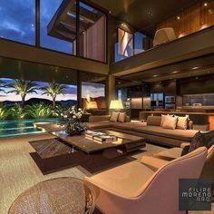 What Are Your Thoughts About This Interior Design? 📐 By Located In . Mansion Interior, Dream House Interior, Luxury Homes Dream Houses, Home Room Design, Dream Home Design, Modern House Design, Modern House Facades, Mansions, House Styles