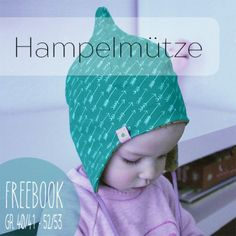 Freebook Mütze /Hampelmütze 40 - 53 für Kinder nähen