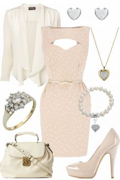 Sugar sweet #outfit - very girly! #style #fashion