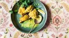 Afghan braised chicken with yoghurt and turmeric (lawang) is an example of using yoghurt instead of cream to curb saturated fat intake.