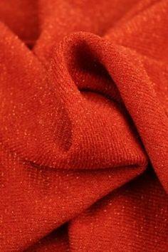 Gebreide Glitter Tricot - Oranje Glitter, Tricot, Sequins, Glow