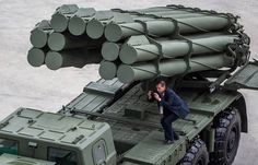 """Russian Tornado-S.    Russia's army will start getting multiple rocket launchers Tornado-S starting from next year, the chief of the department concerned at the Defense Ministry's state defense contract support department, Mikhail Osyko, said on Monday. """"In 2016, the 220-mm system Uragan-M1 was authorized for service. So was the 300-mm system Tornado-S. It was approved in July-August-2016."""