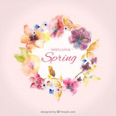Newborn Photography Props NZ by AalsaHandmade Flower Circle, Flower Frame, Flower Art, Free Watercolor Flowers, Plant Vector, Free Website Templates, Spring Design, Welcome Spring, Pop Design