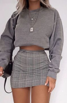 45 cute summer outfits you should own. 1 - summer fashion cute summer outfits you should own. 1 # beautiful summer outfitsFind the most beautiful outfits for Cute Casual Outfits, Stylish Outfits, Teen Dresses Casual, Summer Fashion Outfits, Fall Outfits, Spring Summer Fashion, Skirt Outfits For Winter, Mini Skirt Outfits, Plaid Mini Skirt