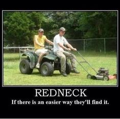 Redneck Humor: American ingenuity
