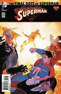 "Major Tragedy Strikes DC's Heroes  As DC rebirth kicks off this week DC is bidding farewell to the New 52 and not everyone is making it out unscathed.  Warning: this article contains spoilers for Superman #52 and DC Universe Rebirth #1!  Even if you've been avoiding the leaked spoilers for DC Universe Rebirth #1 it shouldn't come as any great shock that Superman #52 features the death of the Man of Steel. After all it''s the final chapter in a crossover called ""The Final Days of Superman""…"