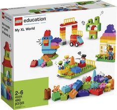 Nieuw! DUPLO my XL World. Een grote DUPLO bulk set met vele blokjes en bouwelementen in vele kleuren. Lego Duplo, Early Learning, Fun Learning, Learning Activities, Van Lego, Natural Curiosities, Learning Through Play, Play To Learn, Lesson Plans