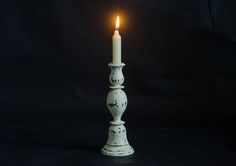 wooden candle holder wooden candleholder wedding candlestick