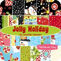 Jolly Holiday Yardage Jennifer Heynen for In the Beginning Fabrics