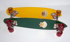 Fibreflex Hotdog deck from around 1975. This pic shows the finished restoration/set up I used before shipping the deck (my yellow Hotdog is shown behind).