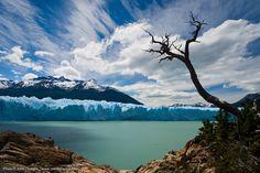 Geleira Perito Moreno, na Patagônia