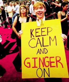 #ginger hahahqah!!!