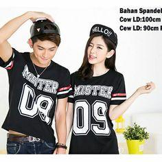Jual Kaos Striped Couple Koreanstyle Baru | Kaos Couple Unik Murah ...