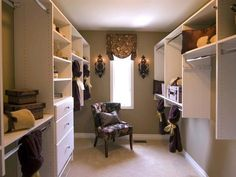 Overnight guests in this home receive an especially warm reception with this amazing closet — along with plenty of plush towels and luxurious lotions and soaps. Design by Trish Beaudet