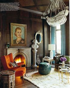 images of burnt orange home decor | Decorating with Burnt Orange