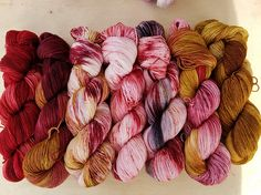 Find your fade shawl yarn kit The Perfect Neutral Fade hand painted yarn fingering weight indie dyed yarn hand dyed yarn