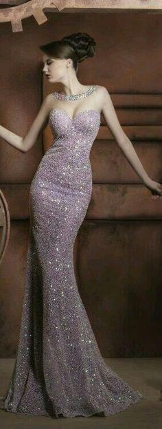 Evening gown dress - vestido de noche
