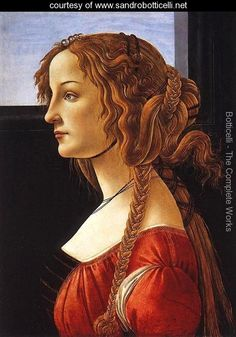 Portrait of a Young Woman, after 1480 - Sandro Botticelli (Alessandro Filipepi) -