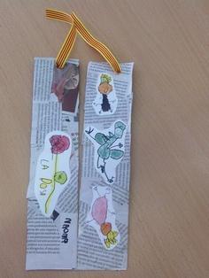 Amb diari i dibuixos fets pels nens