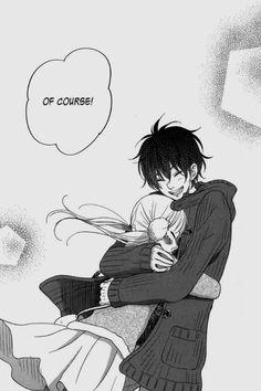 anime couple, tonari no kaibutsu-kun