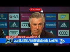Entrevista Carlo Ancelotti / Presentación Oficial James Rodriguez - Bayern Munich (HD) - VER VÍDEO -> http://quehubocolombia.com/entrevista-carlo-ancelotti-presentacion-oficial-james-rodriguez-bayern-munich-hd    Entrevista Oficial Carlo Ancelotti Palabras de Carlos Ancelotti durante la presentación oficial #LOULTIMO Créditos de vídeo a Popular on YouTube – Colombia YouTube channel