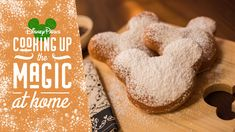 Create Magical Mickey Mouse-shaped Beignets at Home with this Fan-Favorite Classic Disney Recipe Beignets, Food Park, Disney Food, Disney Recipes, Disney Tips, Disneyland Food, Disney Facts, Disney Parks Blog, Disney Magic