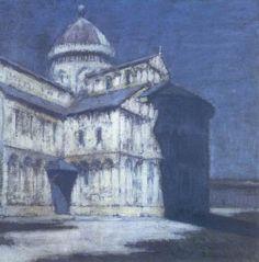 Olga Boznanska (1865-1940) - Piza's Cathedral