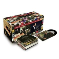 Vladimir Horowitz- The Complete Original Jacket Collection  Presenting an incredible Limited Edition 70 CD Box-set  includes previously unreleased material! Original LP Cover Design! 200 Page Booklet! Sony. 2010.  http://www.musicdownloadsstore.com/vladimir-horowitz-the-complete-original-jacket-collection-2/
