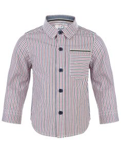 My Design Oscar Striped Shirt | Silver | Monsoon