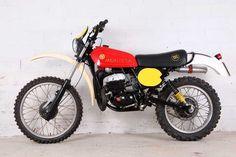 Enduro Vintage, Vintage Motocross, Vintage Bikes, Sidecar, Moto Cross, Bike Rider, Bmw, Classic Bikes, Motorcycle Bike