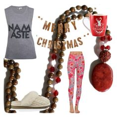 December Set by theyogachic on Polyvore featuring UGG and Bloomingville