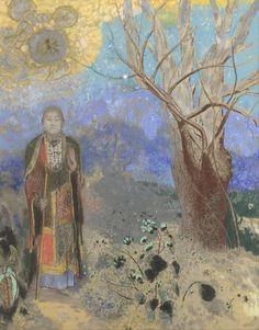 Le Bouddha, par Odilon Redon