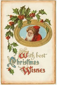 Lark & Lola: Old Christmas Postcards - Free to download!