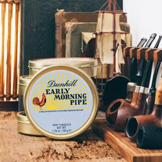 From now until the end of October enjoy 20% off when you buy five or more Dunhill tins. http://smokingpip.es/2dGVsza