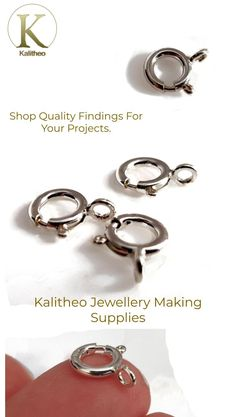 #BoltRingClasp #Silver925Clasp #QualitySilverClasp #NecklaceClasp #SpringClasp #BeadingSupply #CraftSupply #AustStore #OnlineShop #Kalitheo #Aussie #FeedYourPassion #Findings #JewelleryMaking #KalitheoBeadsNWire   Visit our jewellery supply section @ kalitheo.com.au for our growing range of findings and beads.