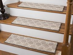 Jardin Wool Inspired Bullnose Carpet Stair Tread With